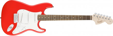 Fender Squier Affinity Stratocaster SSS Lrl Race Red