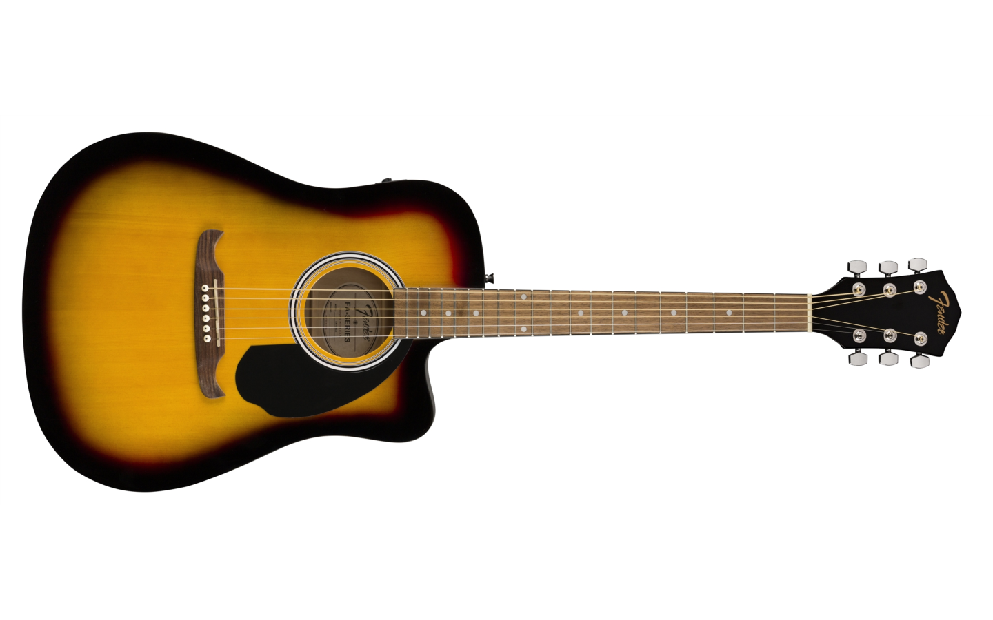 Fender FA-125CE Dreadnought Walnut Fingerboard Sunburst