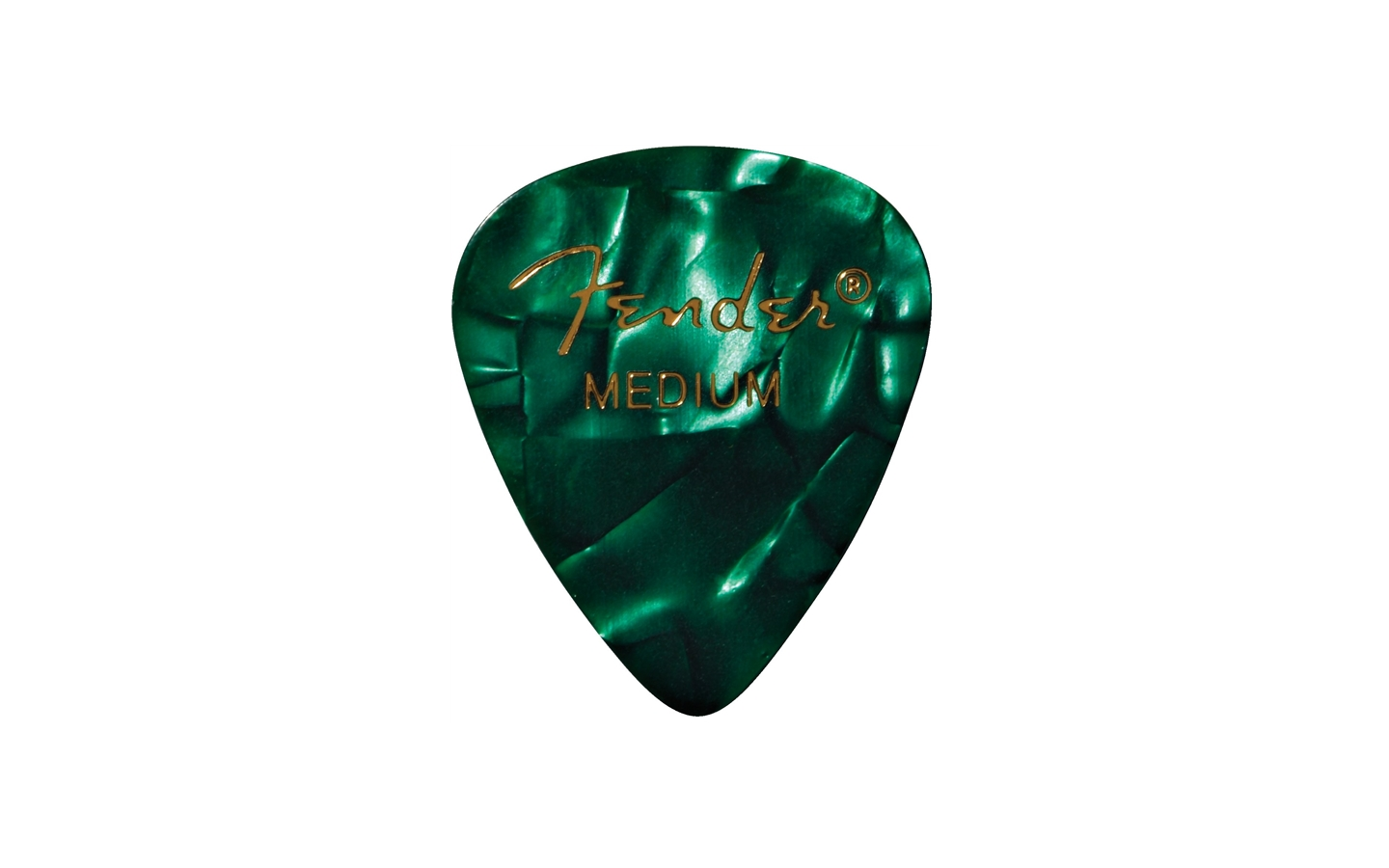 Fender Green Moto Pick 351 MEDIUM PACK (12pz.)