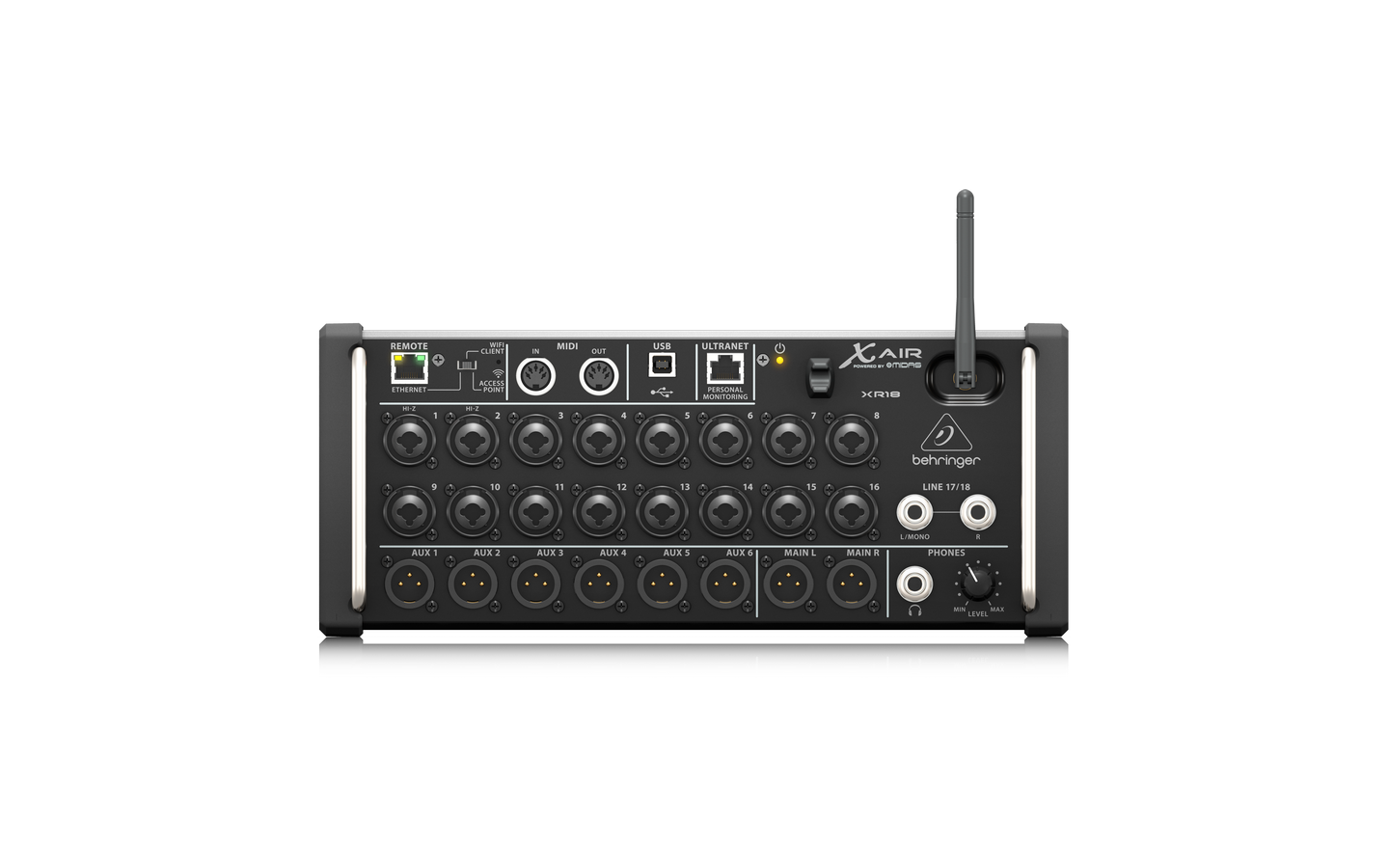 Behringer X AIR XR18 Mixer Digitale 18 Chan 12 Bus MIDAS Pre