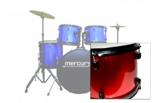 DC500 A1 RD KIT BATTERIA ACUSTICA MERCURY studio