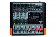 MF44-MP3 MIXER 4 CANALI CON PLAYER MP3 TECHNOSOUND