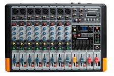 MF48-B/MP3 MIXER 8 CH  BLUETOOTH  MP3 TECHNOSOUND