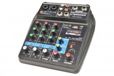 NEXT4 B/MP3 MIXER 4 CANALI  PLAYER MP3  BLUETOOTH TECHNOSOUND